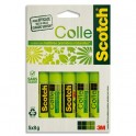 SCOTCH Lot de 5 Bâtons de Colle Naturelle de 8 g