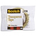 SCOTCH Ruban adhésif transparent 550 en sachet individuel 15 mm x 66 m