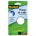 SCOTCH Pochette de 64 Points de Colle, pastilles Invisible Dots