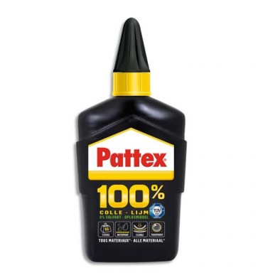 PATTEX Flacon de 100 g de colle 100% multi-usages