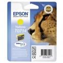 EPSON Cartouche jet d'encre jaune T0714