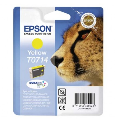 EPSON Cartouche jet d'encre jaune C13T071440