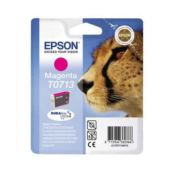 EPSON Cartouche jet d'encre magenta T0713