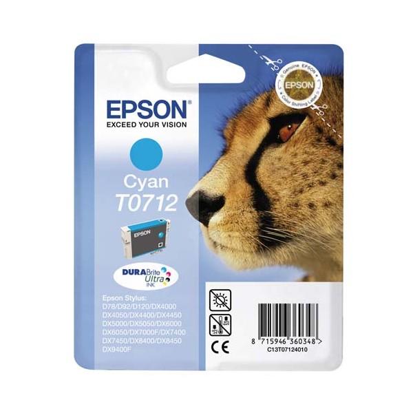 EPSON Cartouche jet d'encre cyan T0712