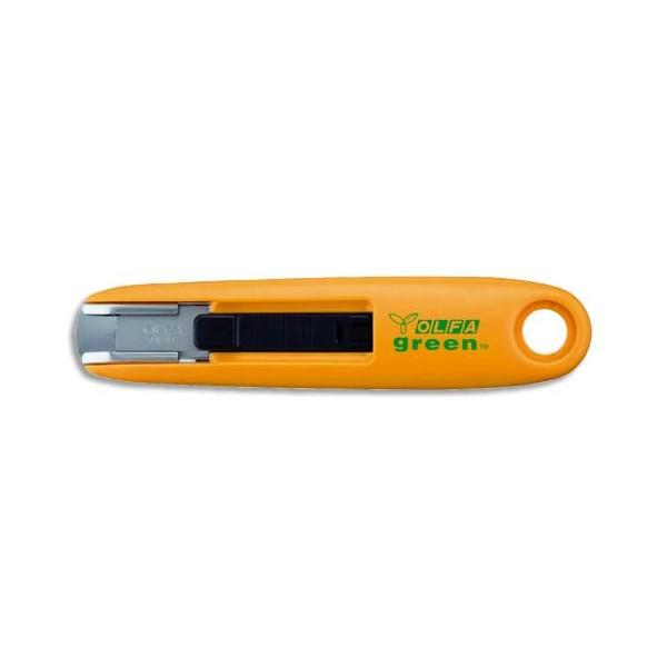 OLFA Etui de 10 lames pour cutter de sécurité SK7 rétractable, lame de 12,5 mm