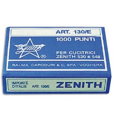 ZENITH Boîte de 1000 agrafes 130/E - 6/4 en acier