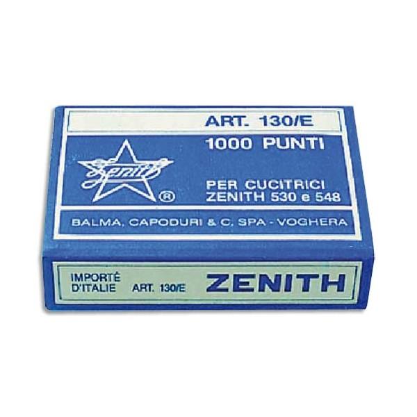ZENITH Boîte de 1000 agrafes 130/E 6/4 en acier