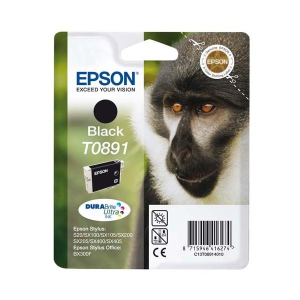 EPSON Cartouche jet d'encre noir T0891