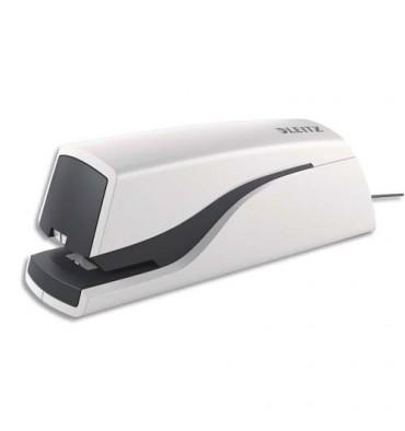 LEITZ Pince agrafeuse électrique NEXXT, capacité 20 feuilles, coloris blanc