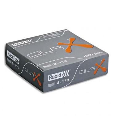 RAPID Boîte de 1000 agrafes Duax. Spécifique pour l'agrafeuse Duax