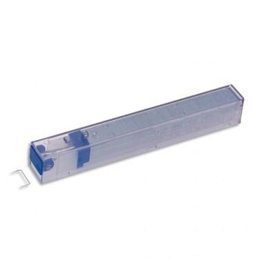 LEITZ Boîte bleue de 5 recharges de 210 agrafes 26/6,
