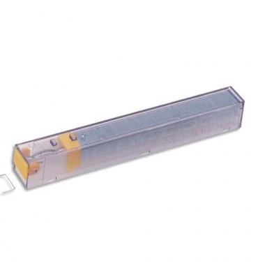 LEITZ Boîte de 5 recharges 210 agrafes 26/08 Jaune