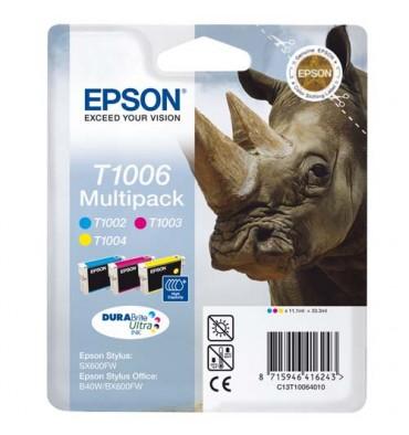 EPSON Multipack cartocuhes jet d'encre 3 couleurs T1006