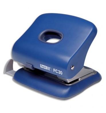 RAPID Perforateur FC30 2 trous bleu, capacité 30 feuilles