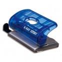 RAPID Perforateur 2 trous C20 XRAY, coloris bleu marine, capacité 20 feuilles