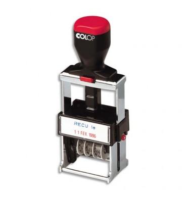 COLOP Dateur multiformules à encrage automatique, spécial usage intensif, 4 formules commerciales