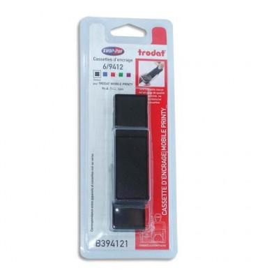 TRODAT Blister de 3 recharges 6/9412 noires pour Mobile Printy 9412 T