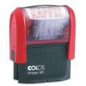 COLOP Timbre à encrage automatique RAPPEL, empreinte rouge 38 x 14 mm