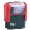 COLOP Timbre à encrage automatique URGENT, empreinte rouge 38 x 14 mm