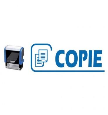 TRODAT X-Print 4912 bleu climatiquement neutre COPIE - encrage bleu