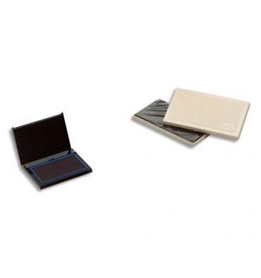 TIFLEX Tampon encreur rechargeable, feutre 10 x 5,5 cm bleu