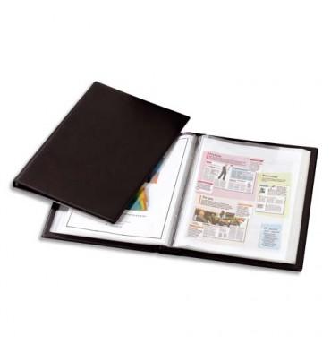 OXFORD Protège-documents à faisceaux 200 vues Voltiplast couverture PVC expansé, pochettes polypropylène 6/100e