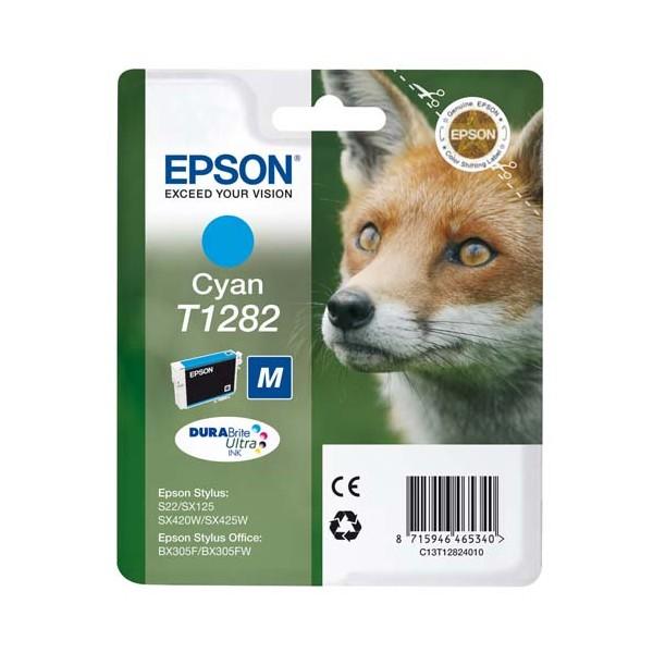 EPSON Cartouche jet d'encre cyan T1282