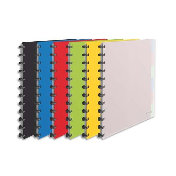 ESSELTE Protège-documents VIVADA à pochettes amovibles 50 vues, 25 pochettes et 6 intercalaires, coloris assortis