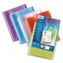 ELBA Protège-documents personnalisable POLYVISION 40 vues, 20 pochettes. Coloris assortis