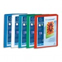 EXACOMPTA Classeurs personnalisables KREACOVER en polypropylène, 4 anneaux 15 mm, pour A4, coloris assortis