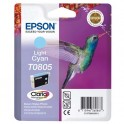 EPSON Cartouche jet d'encre cyan clair T0805