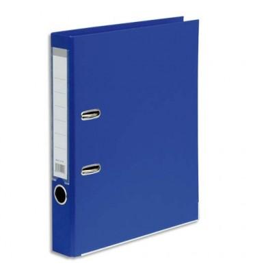 5 ETOILES Classeur à levier en polypropylène dos de 5 cm bleu