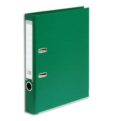5 ETOILES Classeur à levier en polypropylène dos de 5 cm vert