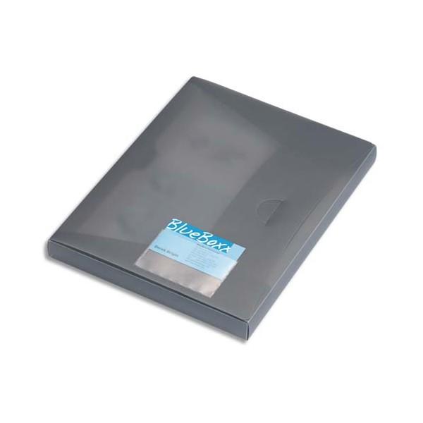 DURABLE Sachet 10 porte-cartes de visite adhésifs, en polypropylène, 94 x 63 mm, ouverture grand côté, transparent (photo)