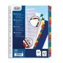 ELBA Intercalaire en carte alphabétique 20 touches Mylar®, format A4+