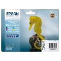 EPSON Pack de 6 cartouches couleurs jet d'encre T0487