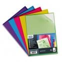 ELBA Sachet de 10 pochettes-coins PVC 15/100e, coloris assortis acidulés