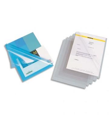 ELBA Boîte de 100 pochettes-coins en PVC 15/100e incolore