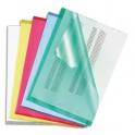 5 ETOILES Boîte de 100 pochettes-coin coloris assortis en polypropylène 12/100e, coloris assortis