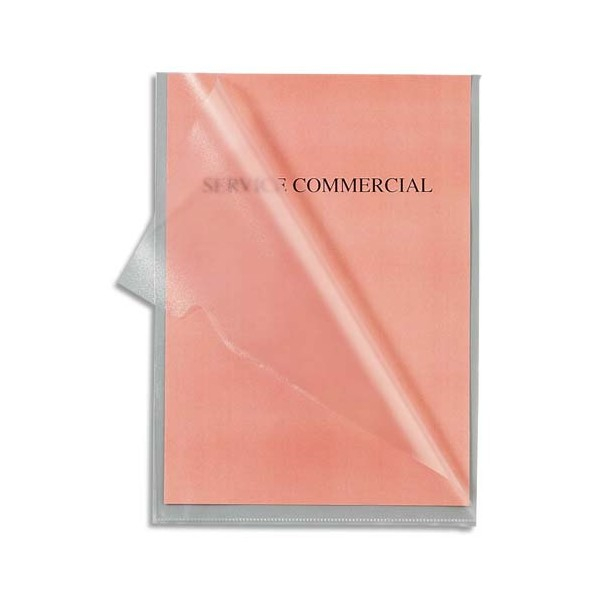 5 ETOILES Boîte de 100 pochettes-coin en polypropylène 12/100e, coloris incolore (photo)