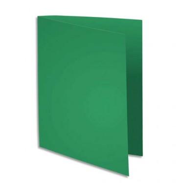 EXACOMPTA Paquet de 100 sous chemises 80g FLASH format A4 100% RECYCLE vert