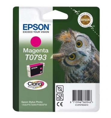 EPSON Cartouche jet d'encre magenta T0793