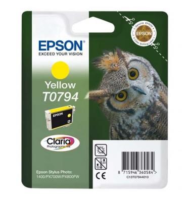 EPSON Cartouche jet d'encre jaune T07944010