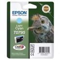EPSON Cartouche jet d'encre cyan clair T0795