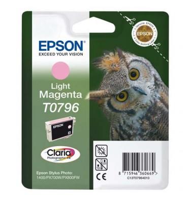 EPSON Cartouche jet d'encre magenta clair T0796