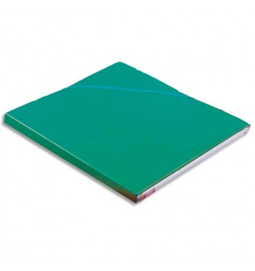 ELBA Chemise Eurofolio Alpina, dos de 1,5 cm, carte lustrée 5/10e vert