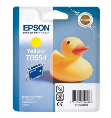 EPSON Cartouche jet d'encre jaune T0554