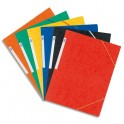 ELBA Chemise 3 rabats et élastique A3, en carte lustrée rigide 7/10e