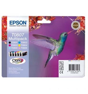 EPSON Multipack 6 cartouches et d'encre T080740