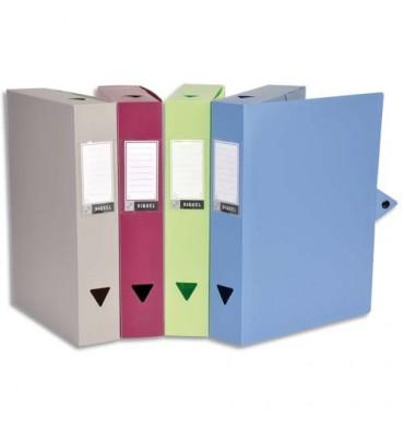VIQUEL Boîtes de classement CLASSDOC, en polypropylène 8/10ème, dos 6 cm, coloris assortis